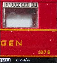 Detail LILIPUT/Wien-Modell
