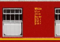 Küchenfensterpartie und Anschriftenspiegel Roco WR-28