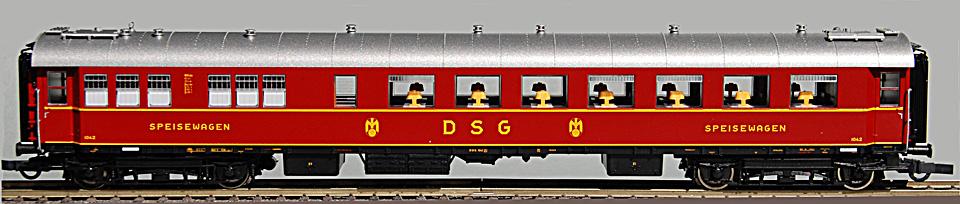 Roco DSG WR4üe-28 Küchenseite